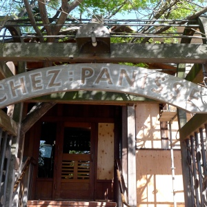 Alice Waters' famous Chez Panisse restaurant, closed until about June because of a recent fire