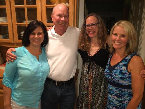 me with Sharron, Josie and Colleen Sept. 2015